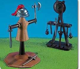 Playmobil - 7188 - Ritter-Attrappe und Waffenständer
