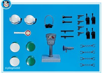 Playmobil - 7238 - Police Accessories