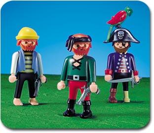 Playmobil - 7243 - 3 pirates