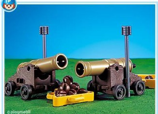 Playmobil - 7335 - 2 cannons for pirate ship
