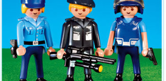 Playmobil - 7385 - 3 Police Officers