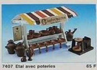 Playmobil - 7407 - Market Stand with Pottery