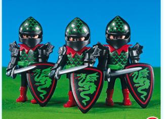 Playmobil - 7669 - 3 Green Dragon Knights