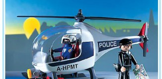 Playmobil - 7680 - Police Helicopter