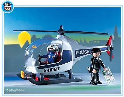 Playmobil set 7680 police helicopter klickypedia for Helicoptero playmobil