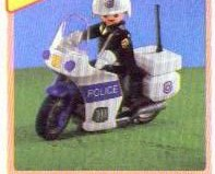 Playmobil - 7681 - US police motorcycle