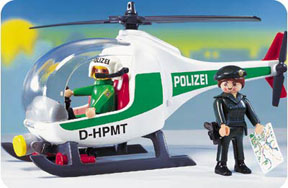 Playmobil - 7691-ger - Police Copter