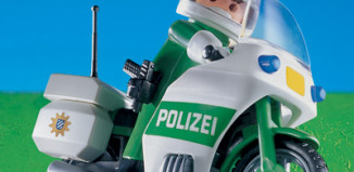 Playmobil - 7692-ger - Police Officer & Motorcycle