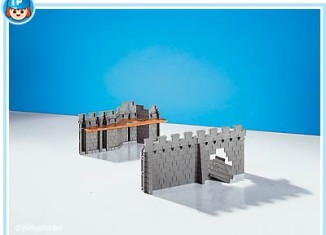 Playmobil - 7758 - Wall Extension for Knights` Empire Castle