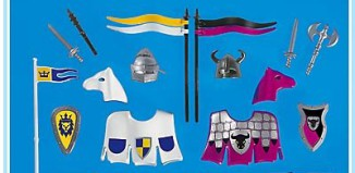 Playmobil - 7762 - Jousting Accessories
