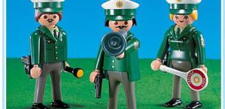 Playmobil - 7765-ger - 3 policeman
