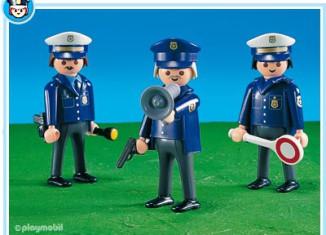 Playmobil - 7799 - 3 Police Men