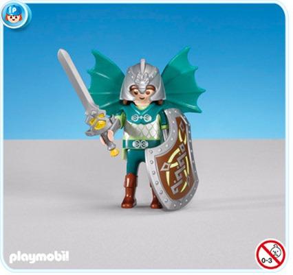 Playmobil Green Dragon Knight Leader