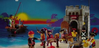 Playmobil - 9989-esp - Pirate Jail And Barbecue