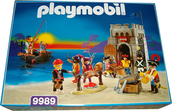 Playmobil 9989-esp - Pirate Jail And Barbecue - Box