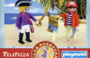 "Playmobil - 0000v1-esp - Piraten ""Telepizza"" - Promo"