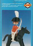 Playmobil - 1L03-lyr - redcoat officer / horse