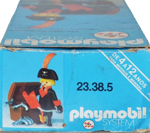 Playmobil 23.38.5v1-trol - pirate / treasure chest - Back