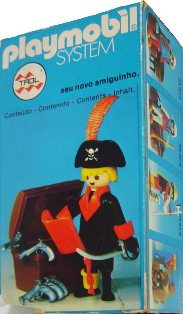 Playmobil 23.38.5v1-trol - pirate / treasure chest - Box