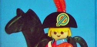 Playmobil - 23.38.7-trol - redcoat officer / horse