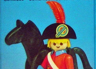 Playmobil - 23.38.7-trol - redcoat officer / horse