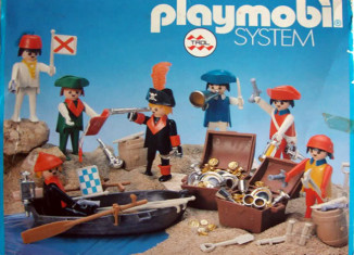 Playmobil - 23.74.6-trol - 7 Piraten