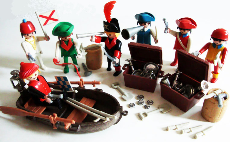 Playmobil 23.74.6-trol - 7 piratas - Volver