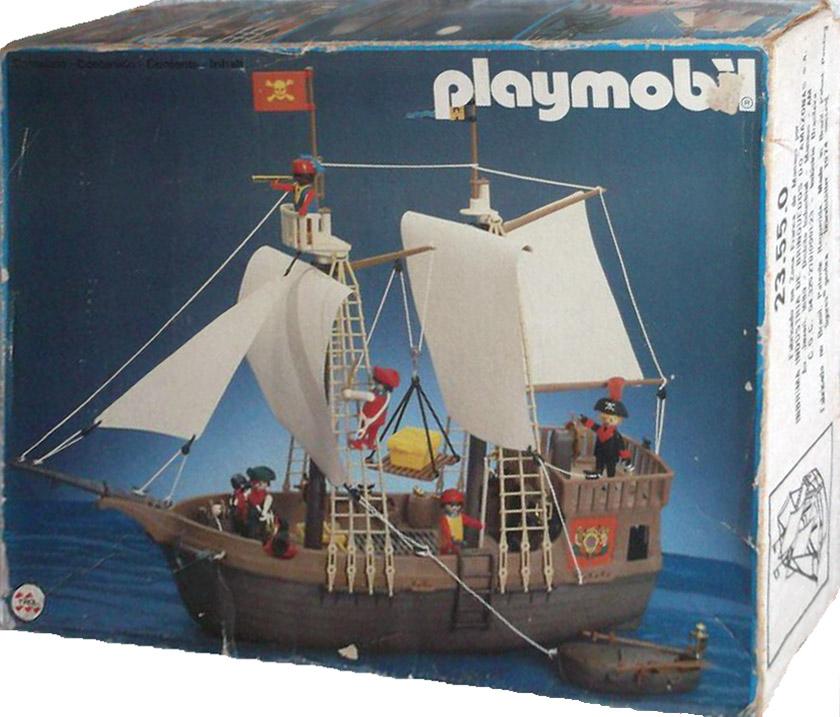 Playmobil 23.55.0-trol - pirate ship - Box