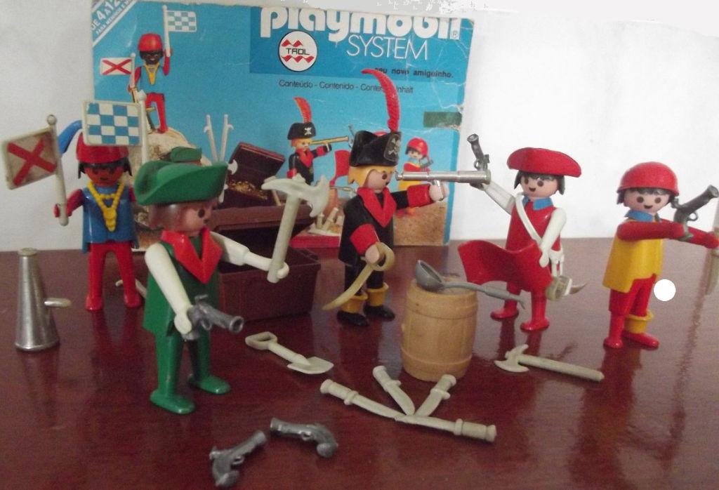 Playmobil 23.54.2-trol - Piraten mit Schatztruhe - Zurück