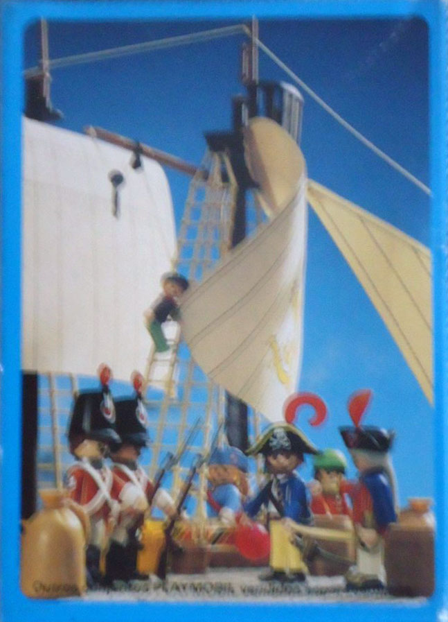 Playmobil 30.10.01-est - pirate / rum barrel - Back