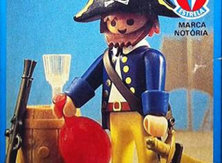 Playmobil - 30.10.01-est - pirate / rum barrel