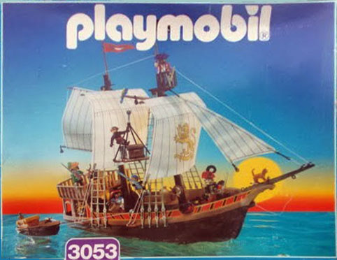 Playmobil 3053-usa - pirate ship - Box