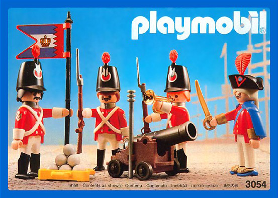 Playmobil 3054-usa - harbour guard - Box