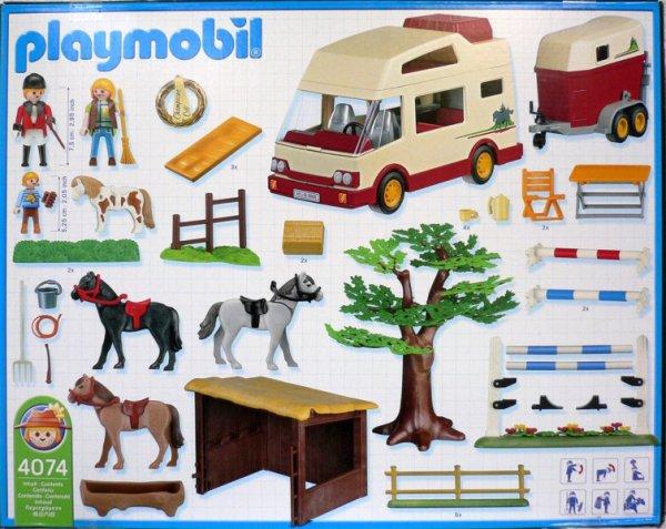 Playmobil 4074 - Equestrians - Box