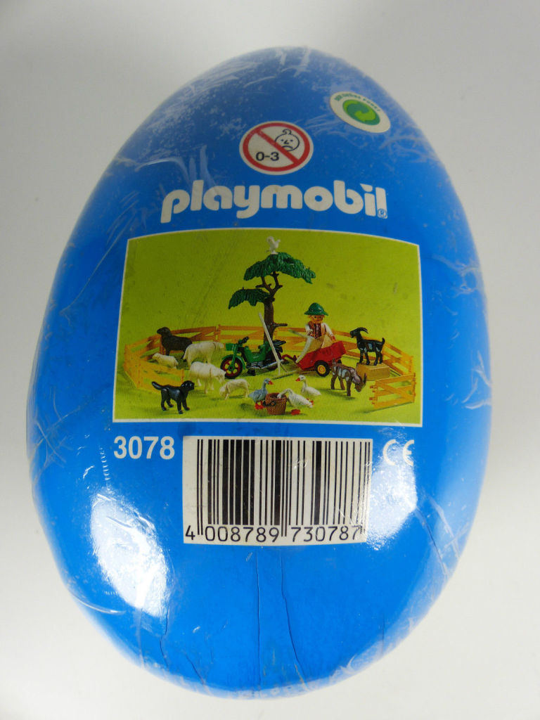 Playmobil 3078 - Large Egg with Shepherd - Back