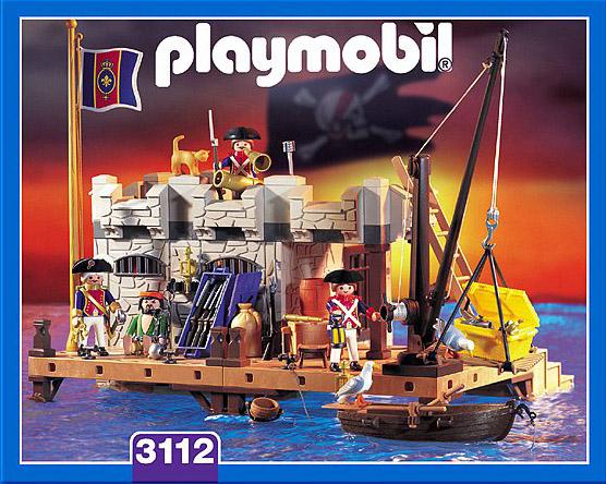 Playmobil 3112s2 - Prison fortress - Box