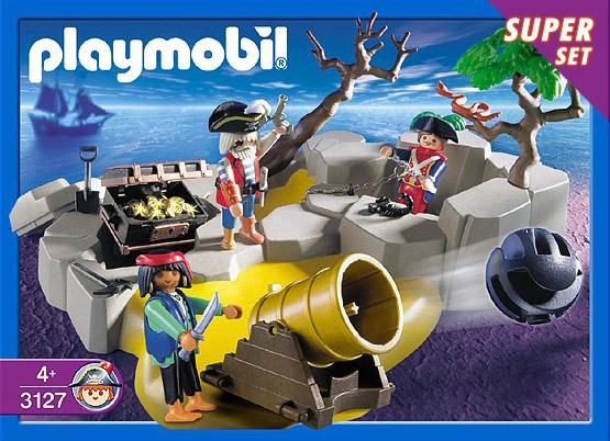 Playmobil 3127 - pirates superset - Box