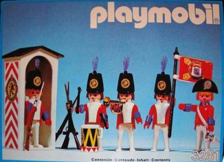Playmobil - 3281-esp - redcoat guards