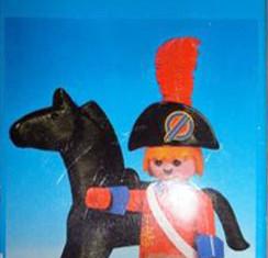 Playmobil - 3387-esp - redcoat officer / horse