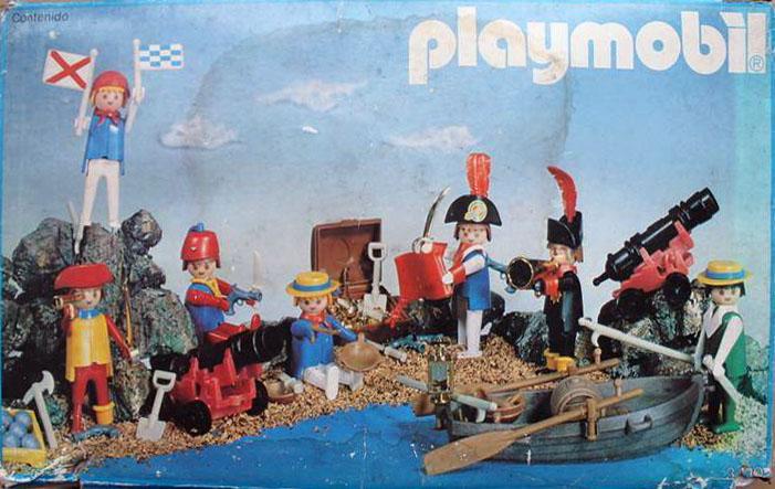 Playmobil 3410-esp - 7 piratas - Box