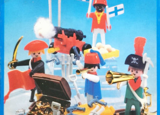 Playmobil - 3480-esp - 4 pirates