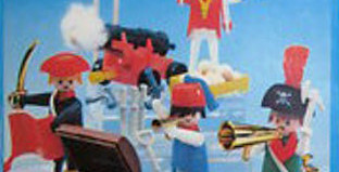 Playmobil - 3480-sch - 4 pirates