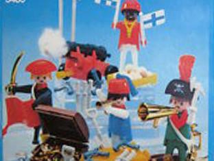 Playmobil - 3480-sch - 4 pirates
