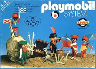 Playmobil - 3542-lyr - pirates / treasure chest