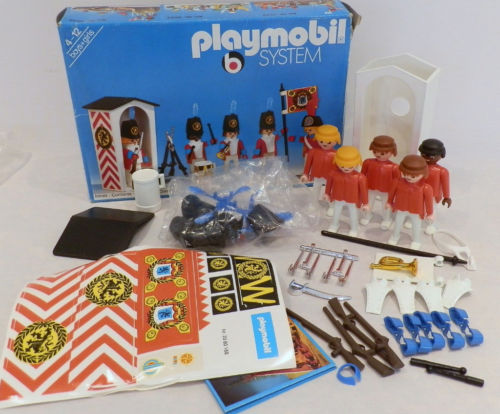Playmobil 3544 - Redcoat Guards - Back