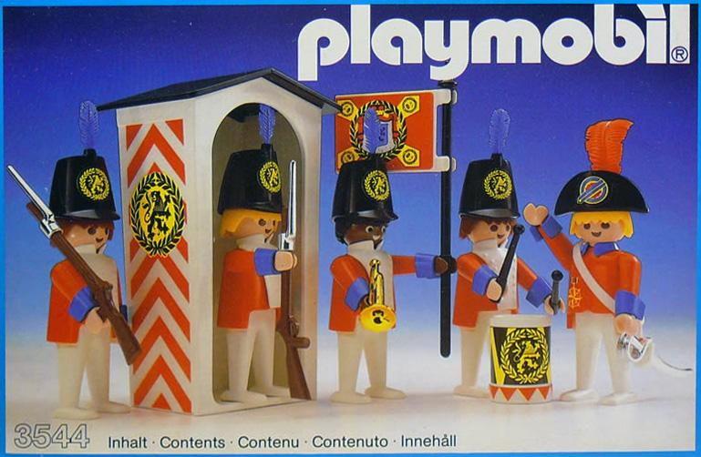Playmobil 3544 - Redcoat Guards - Box