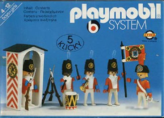 Playmobil - 3544-lyr - redcoat guards