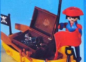 Playmobil - 3570-esp - pirate / rowboat