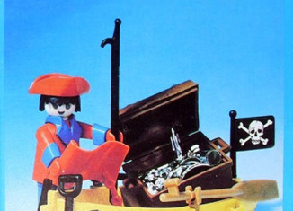 Playmobil - 3570-sch - pirate / rowboat