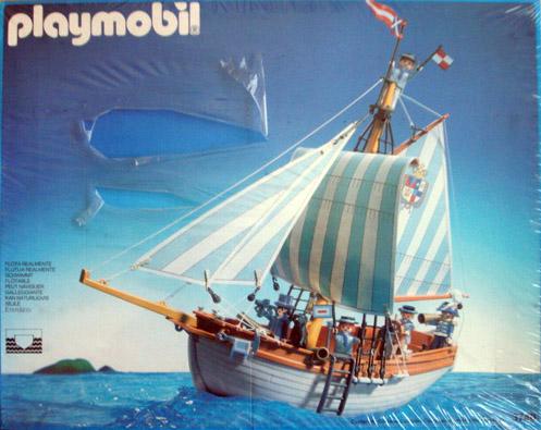 Playmobil 3740-esp - Schooner - Box